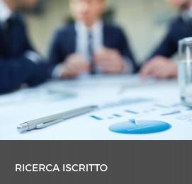 RICERCA ISCRITTO
